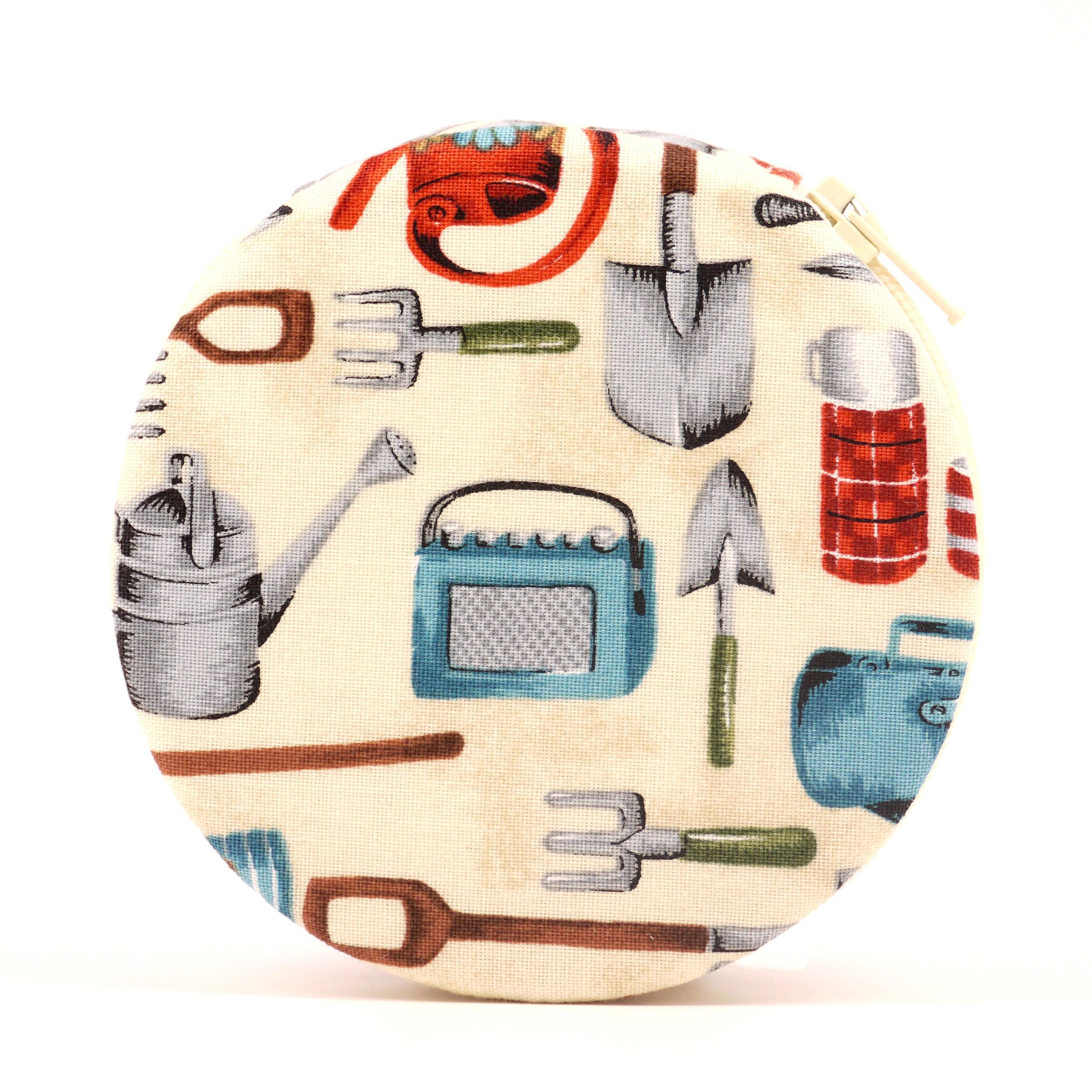 Gardening themed pill case