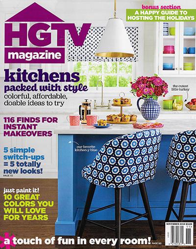 HGTV Magazine - November 2016