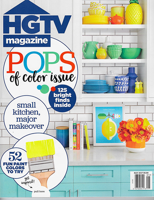 HGTV Magazine - May 2017