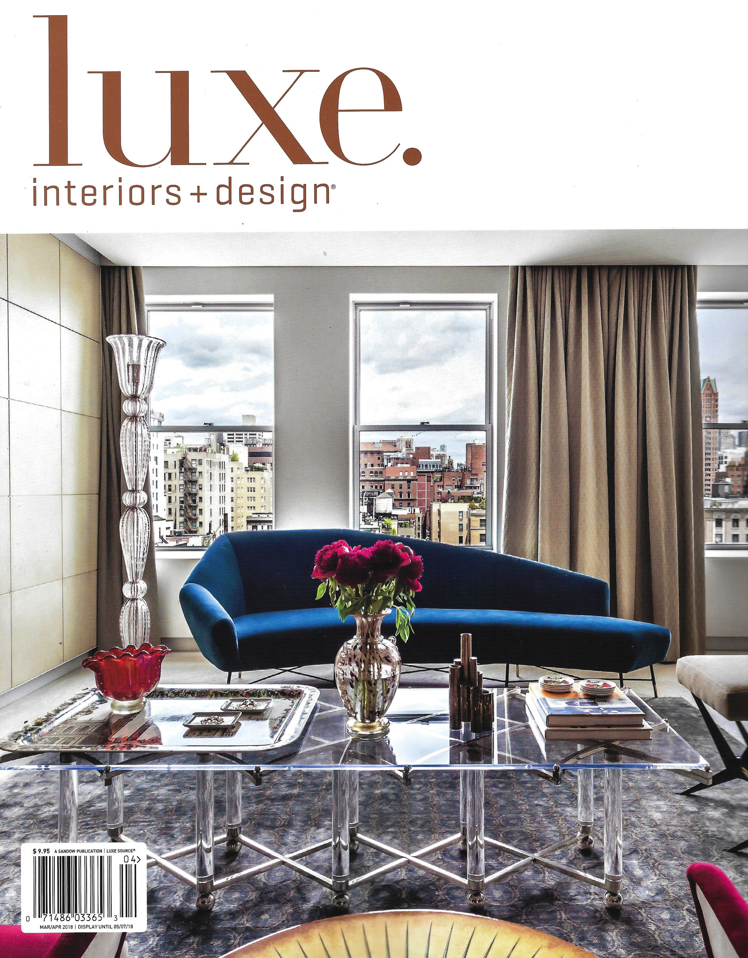 Luxe Magazine- March/April 2018
