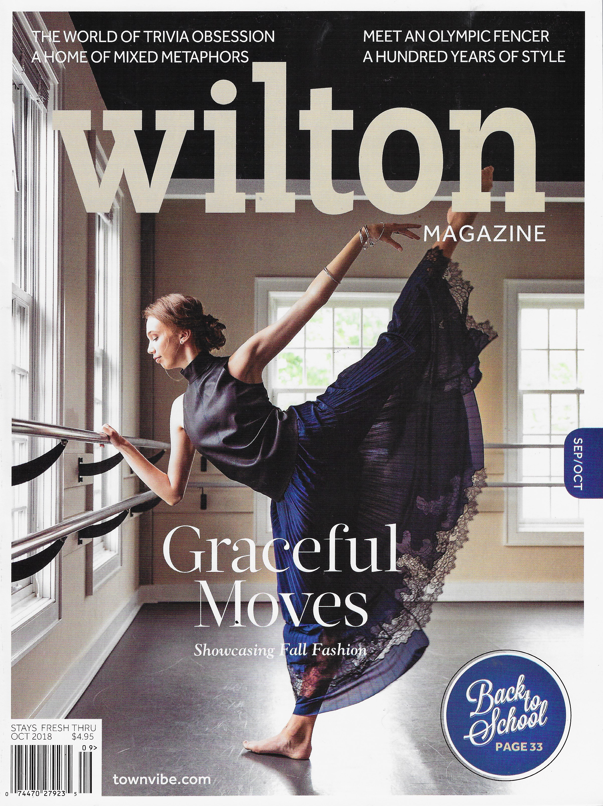 Wilton Magazine - October 2018