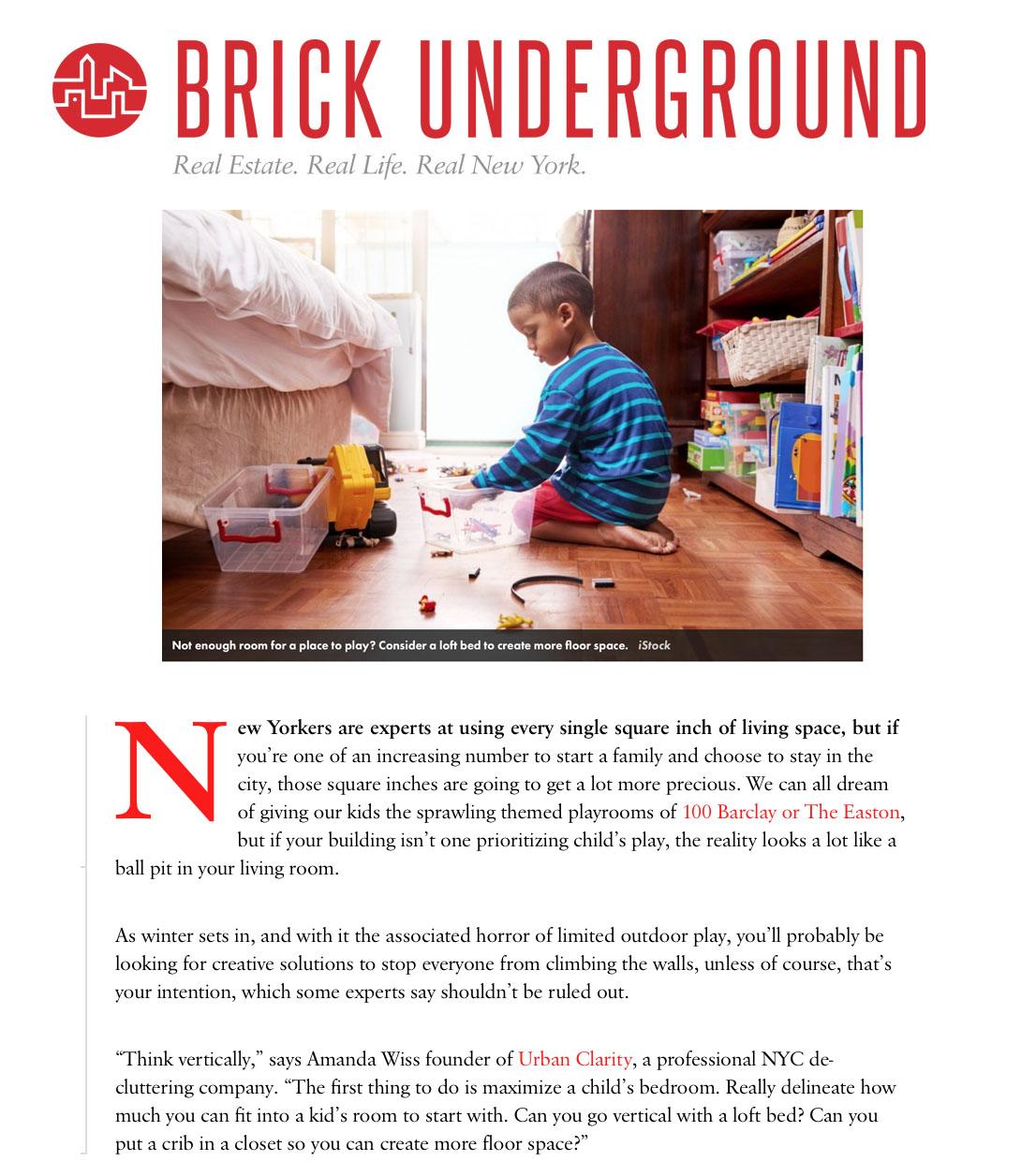 Brick Underground - Nov 2018