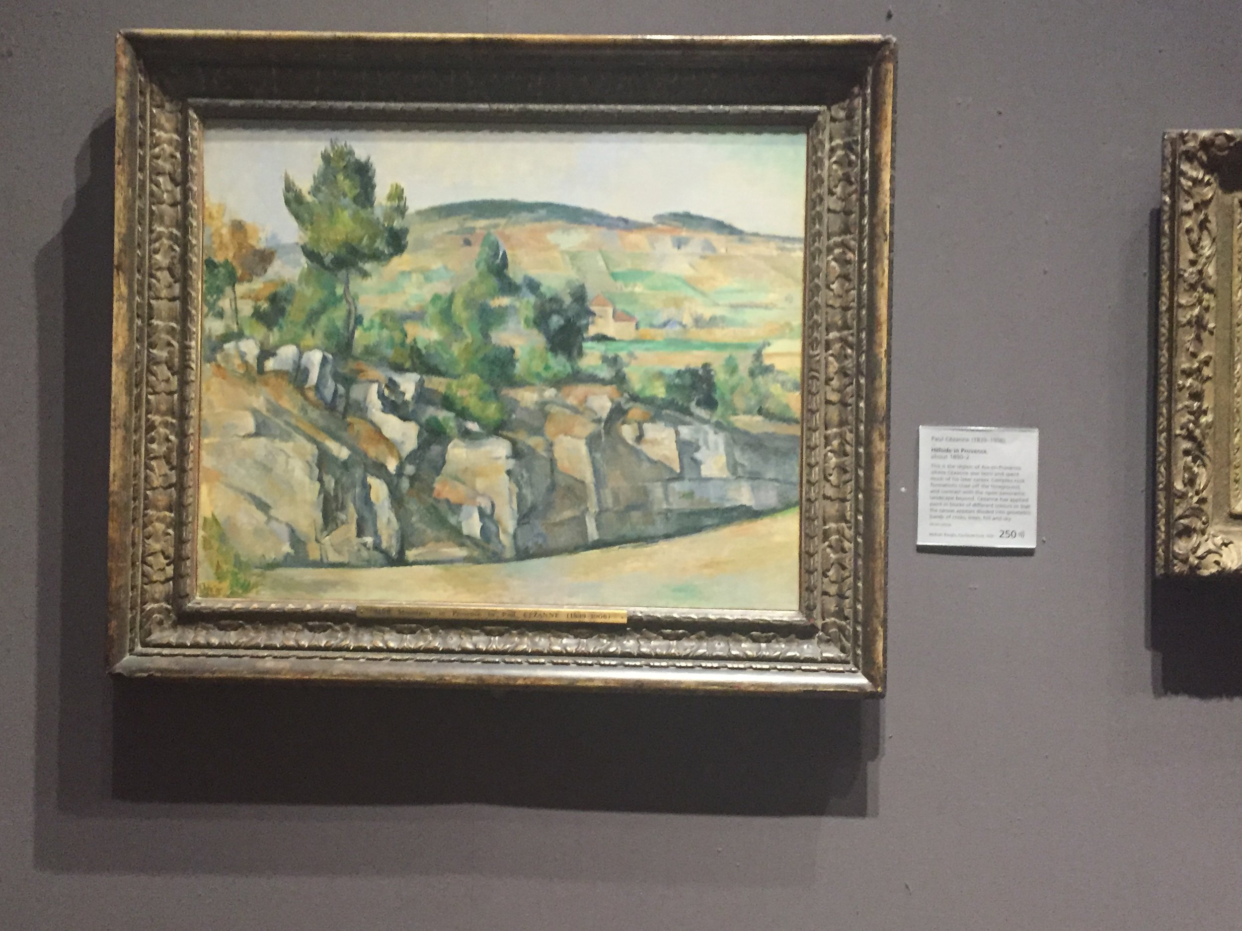 Hillside in Provence, Paul Cezanne, National Gallery of Art, London, England