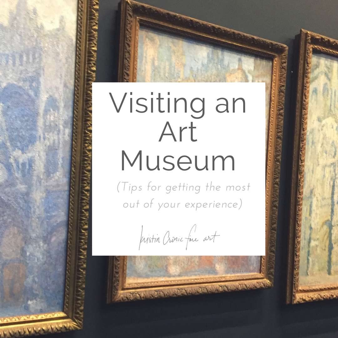 Visiting an Art Museum