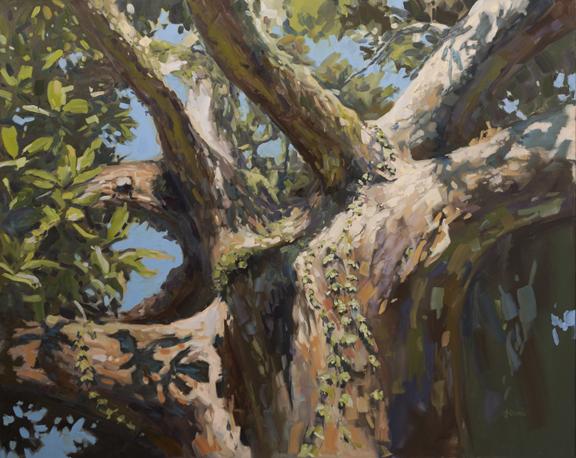 """48""""x60"""" Presence, oil on canvas"""