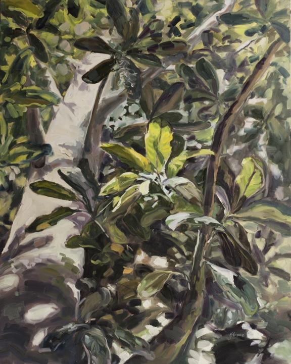 """""""Unbridled,"""" 60""""x48"""" oil on canvas"""