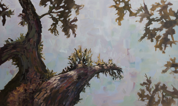 """Hope, 36""""x60"""" oil on canvas"""