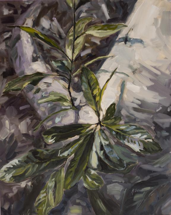 """Begin Again, 30""""x24"""" oil on canvas"""