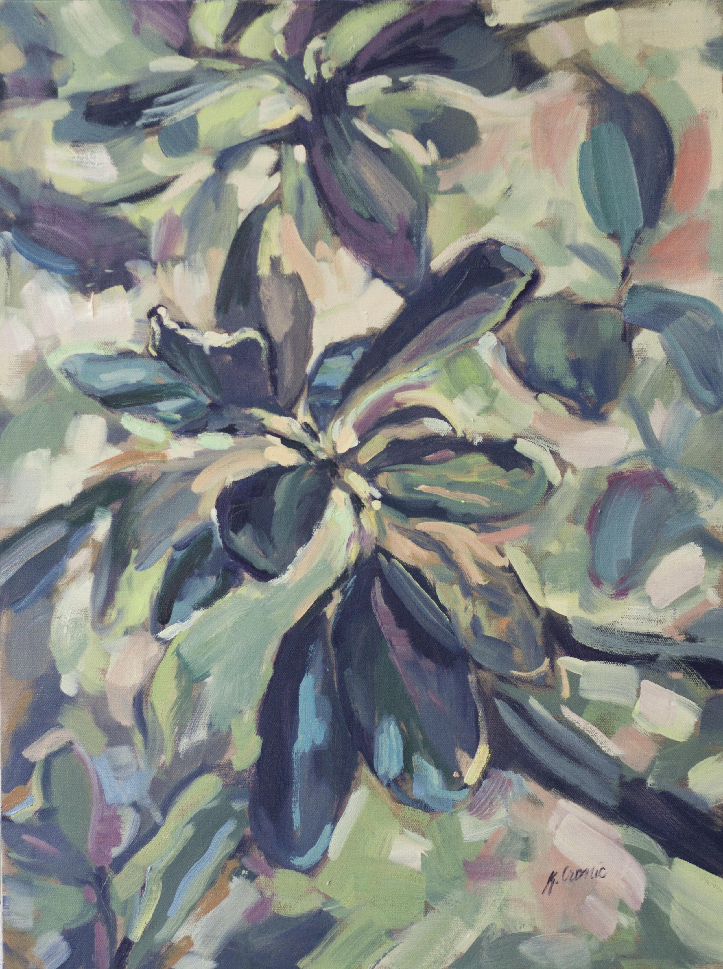 """Kaliedoscope, 24""""x18"""" oil on canvas"""