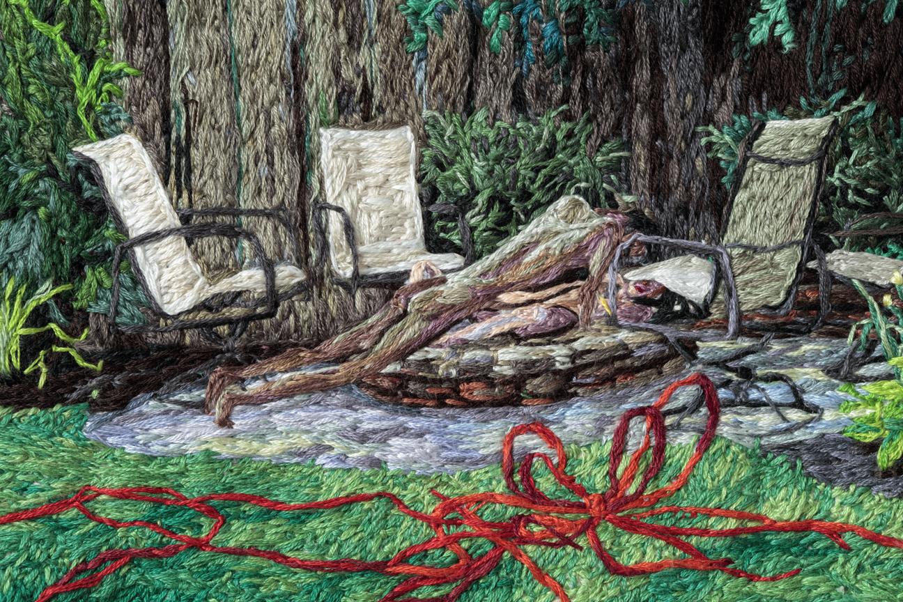 07. Stuck (detail 7), Sophia Narrett, 2016, Embroidery Thread and Fabric.jpg