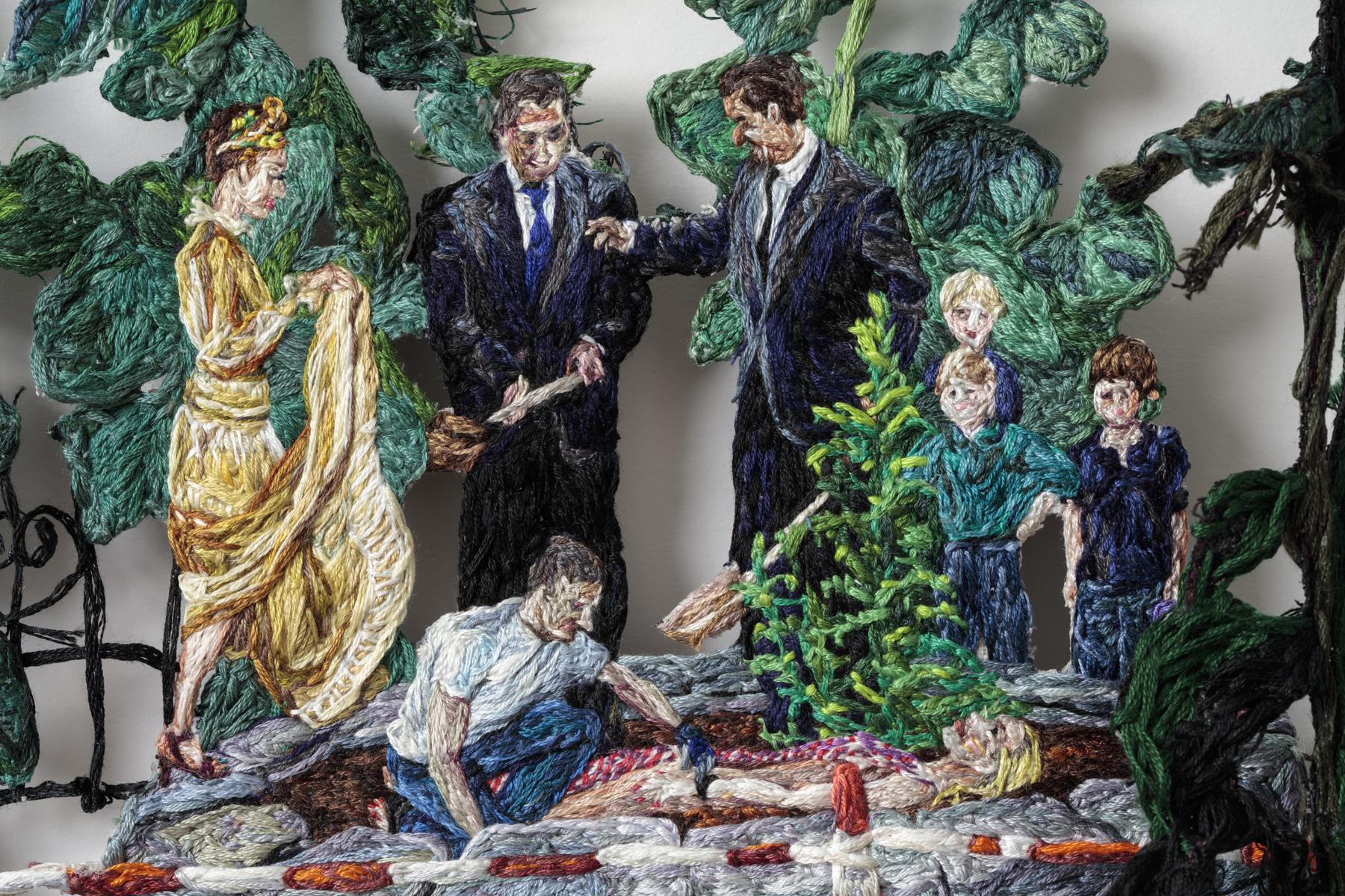 10. Princess Time (detail 3), Sophia Narrett, 2016, Embroidery Thread and Fabric.jpg