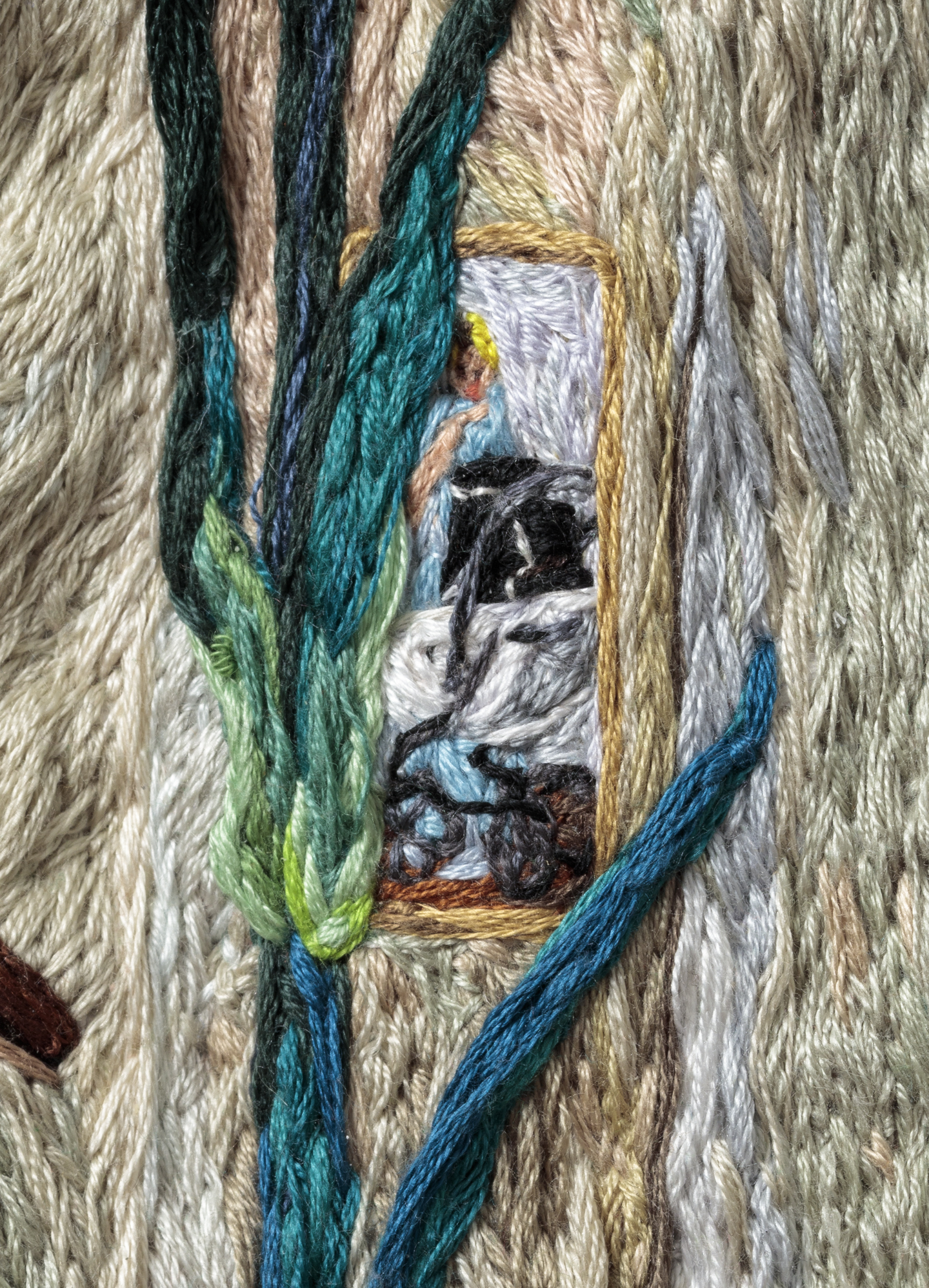 3O3 . When Your Heart Is Open, Sophia Narrett, 2015-16, Embroidery Thread and Fabric.jpg