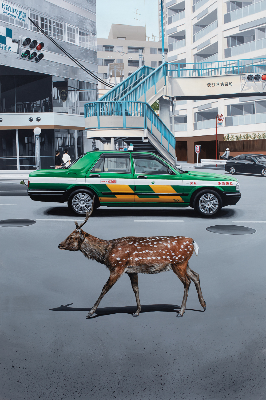 """""""Crossing at Daikanyama Koban"""" 2018"""