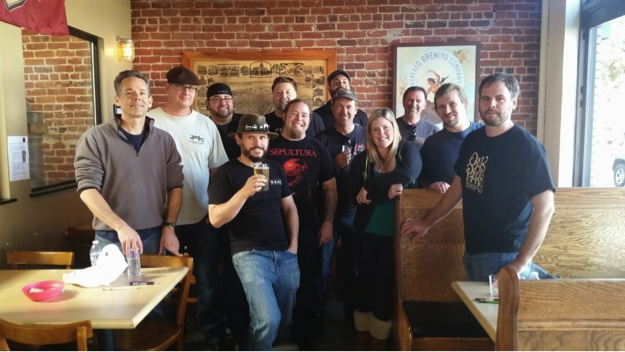 Here's to a great group of potential beer judges and best of luck to the remainder of the class, cheers!