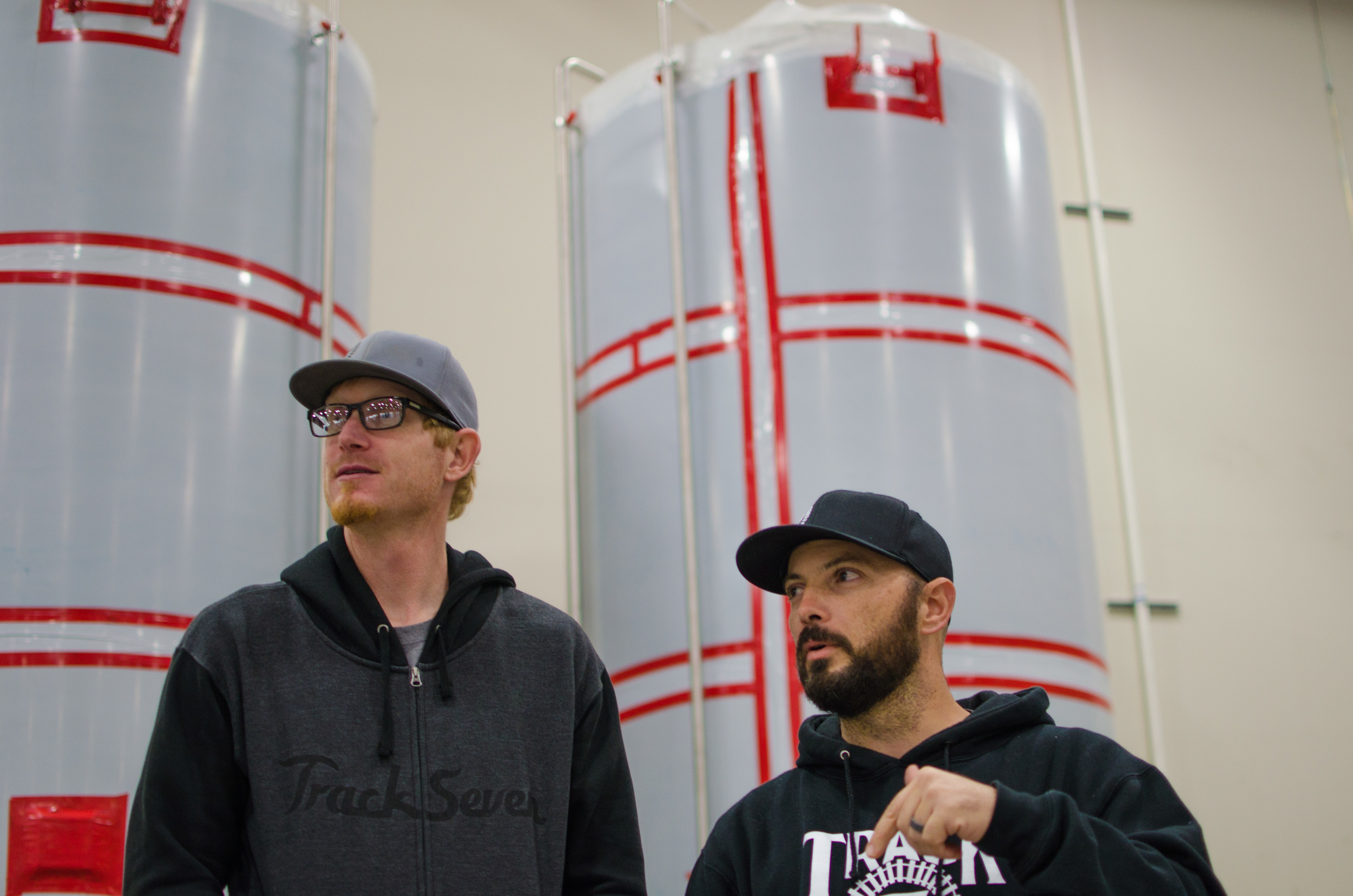 Geoff Scott (Left) and Ryan Graham (Right), Co-Owners of Track 7 Brewing
