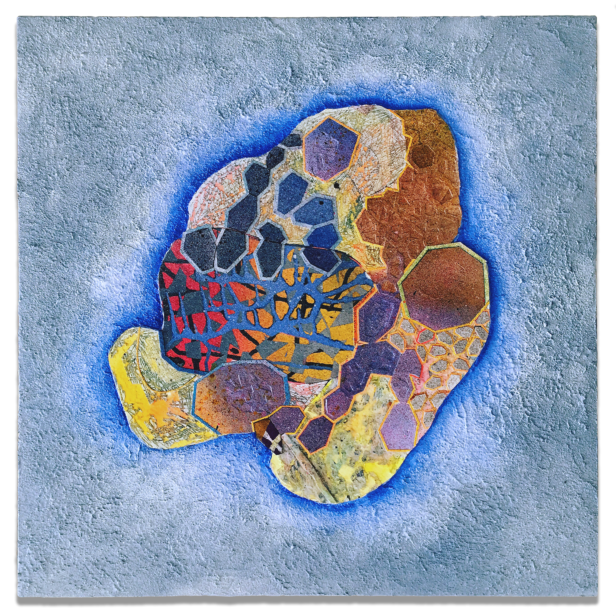 _BabyBlue_NancyBaker_2017_Paper and paint mounted on wood panel_18 inches by 18 inches_$1800.jpg