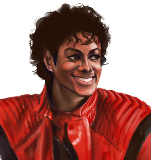 Daily Sketch Challenge - Michael Jackson - Manga Studio