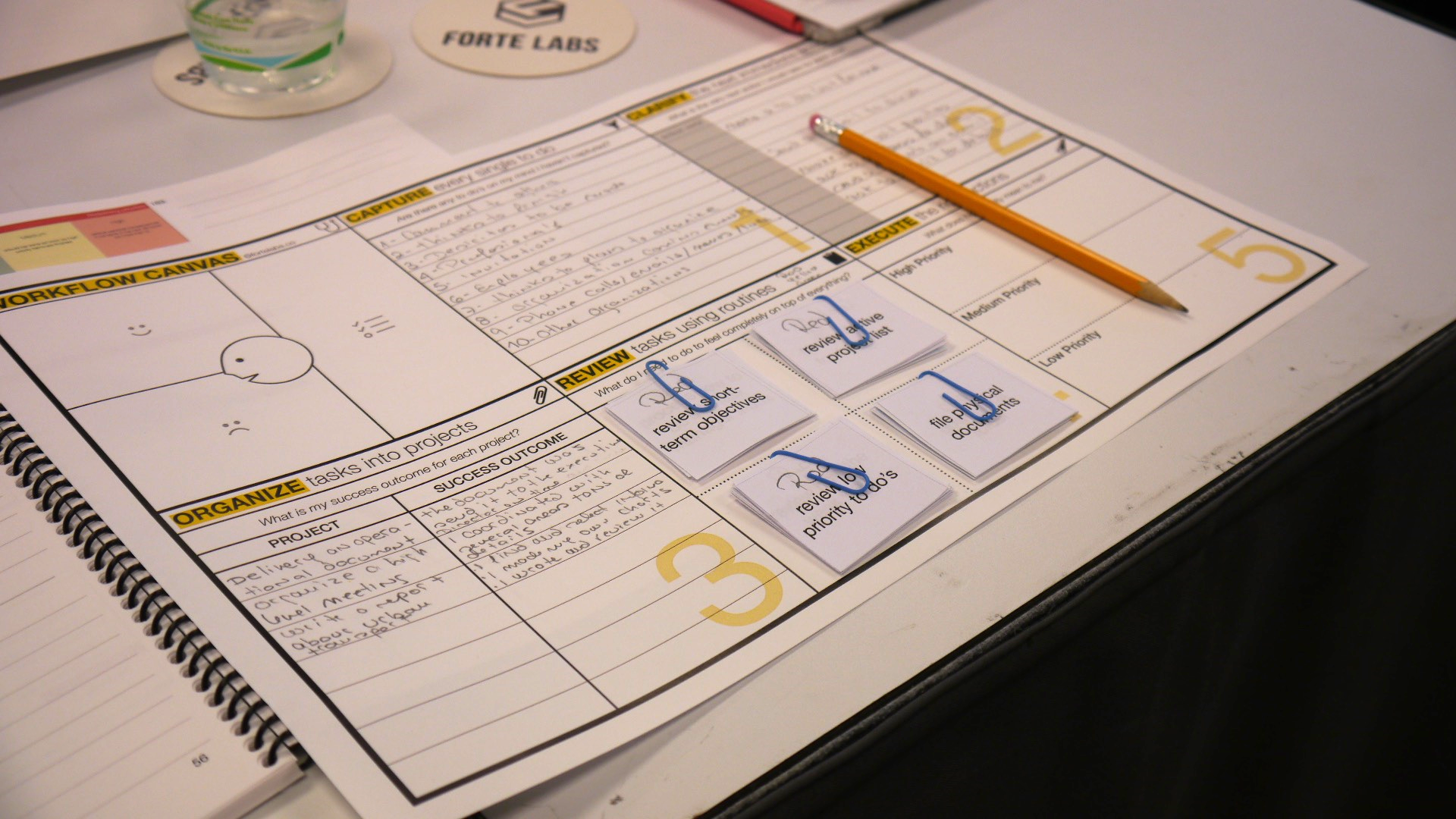 Our custom-designed workflow prototyping materials