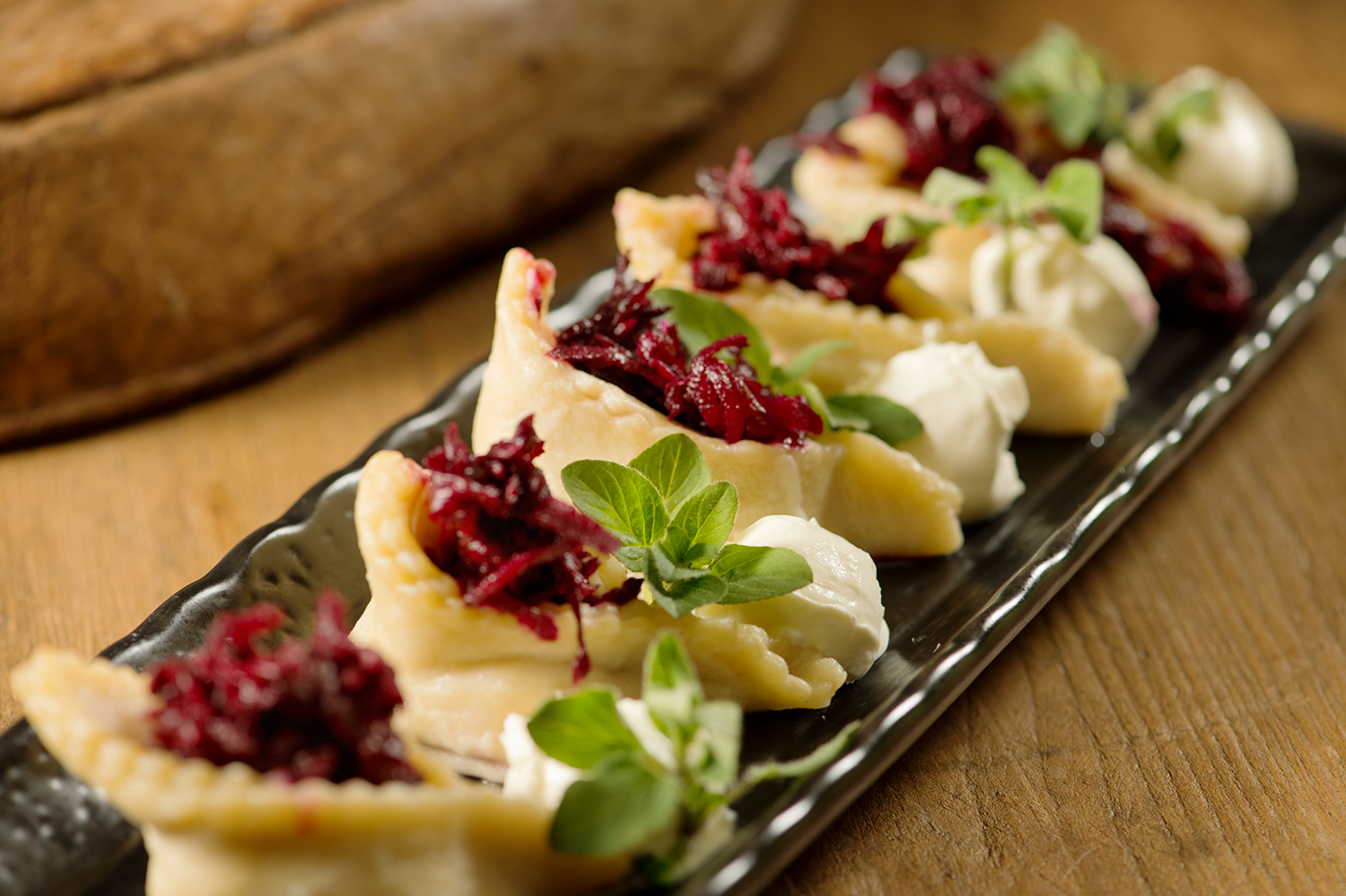 Hungry? I know you have never tasted Pierogi such as mine. Only at Rifugio's
