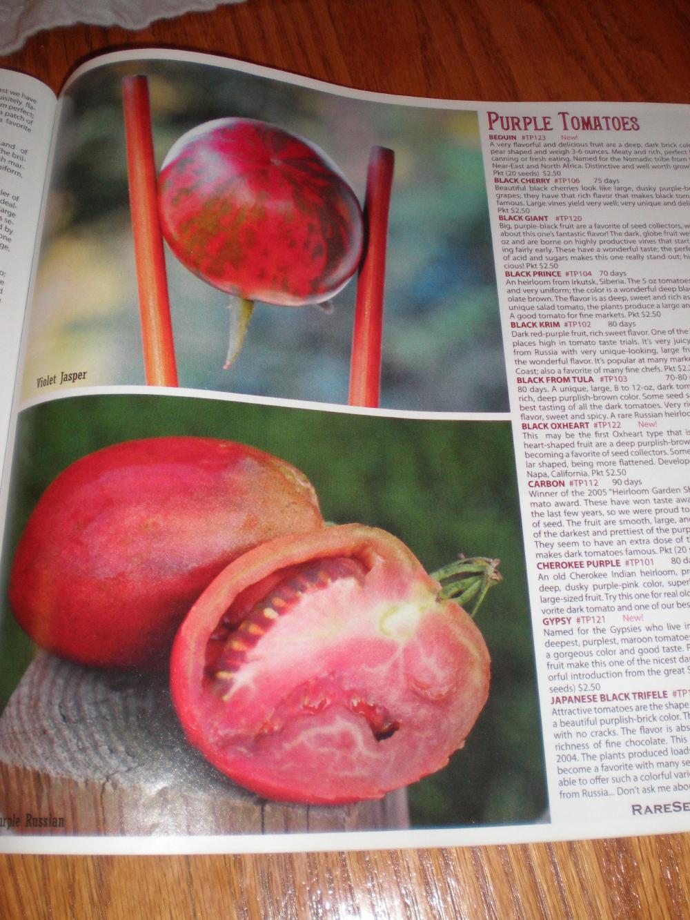 organic heirloom seeds