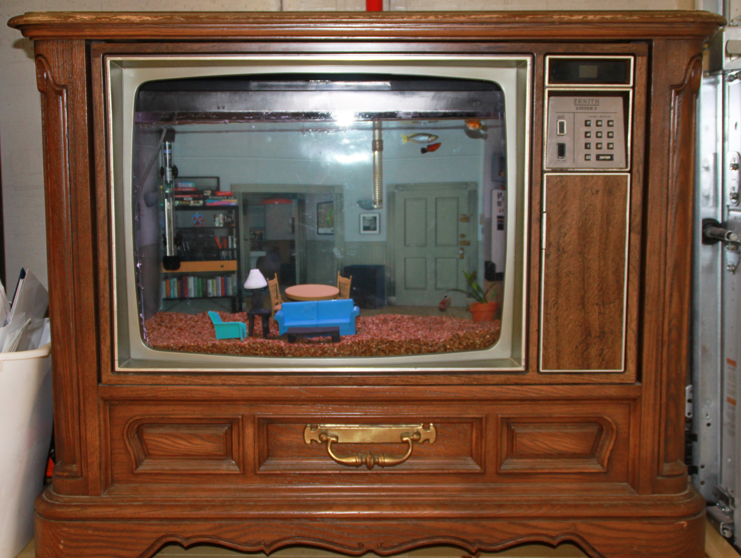 Seinfeld TV Aquarium