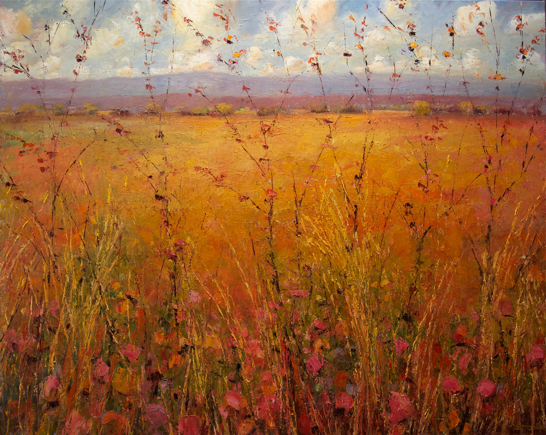 High Desert Grasslands with Wildflowers
