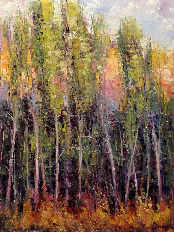 Canyon Poplars II