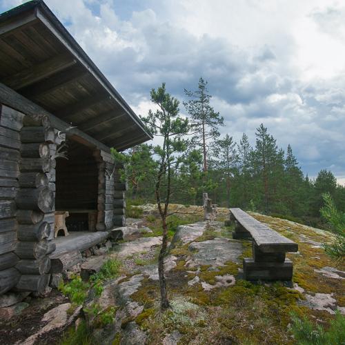 ….Laavu luonnossa näköalapaikalla..Shelter in beutifull nature scenery….
