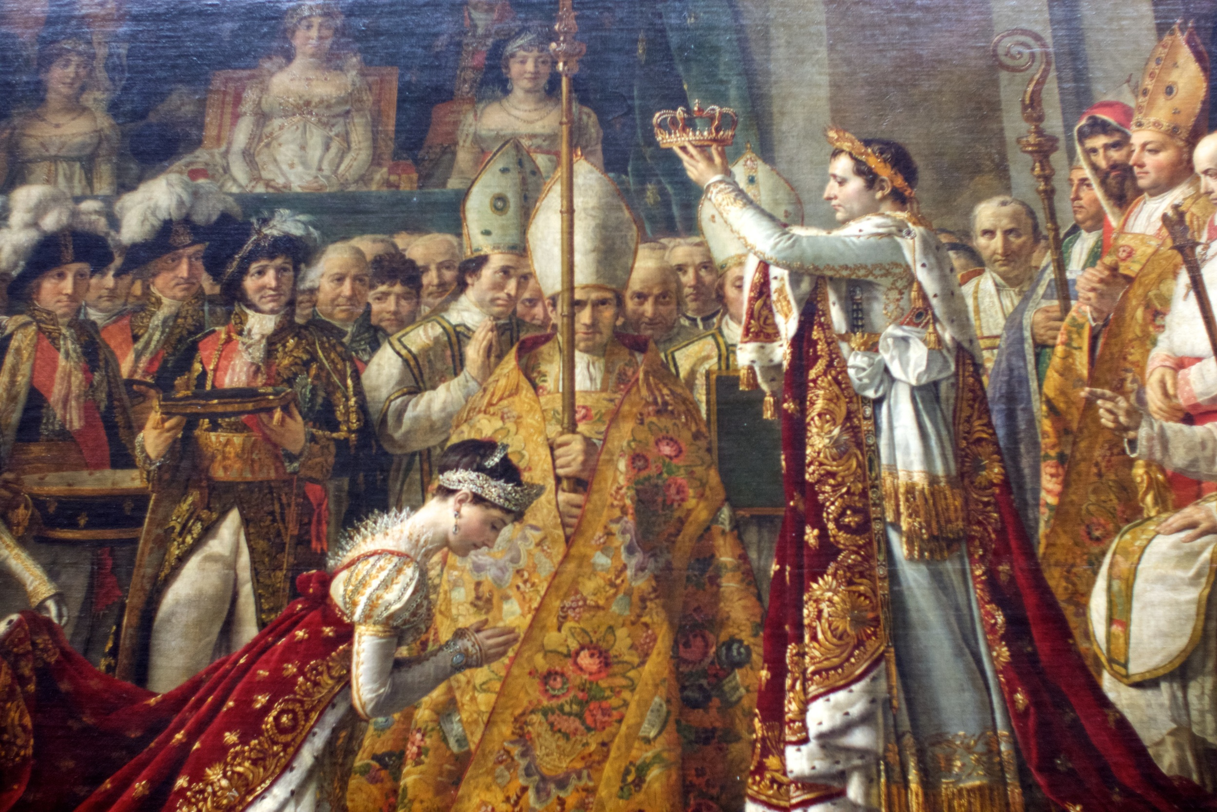 The Coronation of Napoleon『皇帝ナポレオン1世と皇后ジョゼフィーヌの戴冠式』(1806)