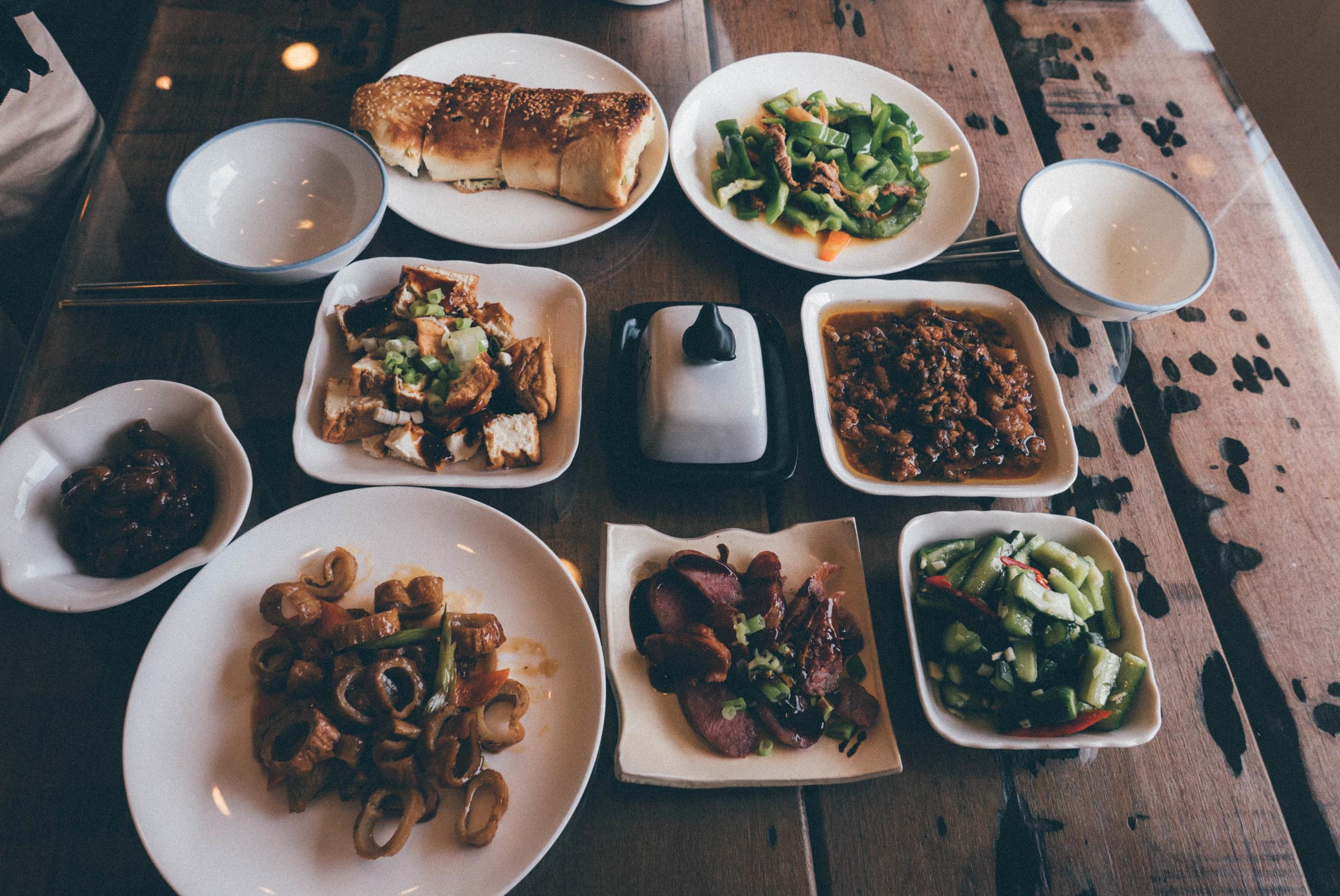Homemade Taiwanese breakfast in Jiu Fen | blossomlink.me by @0oyukao0