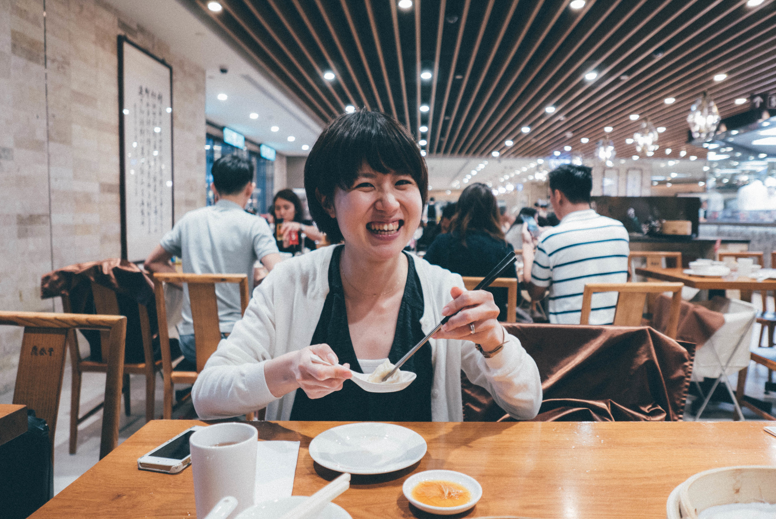 Dumplings at Din Tai Fung | blossomlnk.me by @0oyukao0