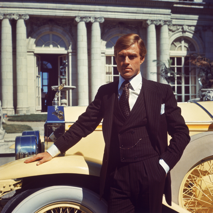 "Channelled here by Robert Redford in the 1974 film, Jay ""The Great"" Gatsby knew how to work a shirt to tear-inducing effect."