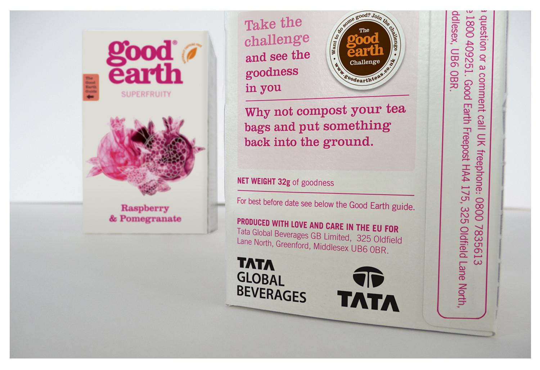 Good Earth Superfruity Tea
