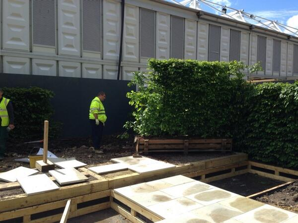Putting in some instant hedging at Chelsea