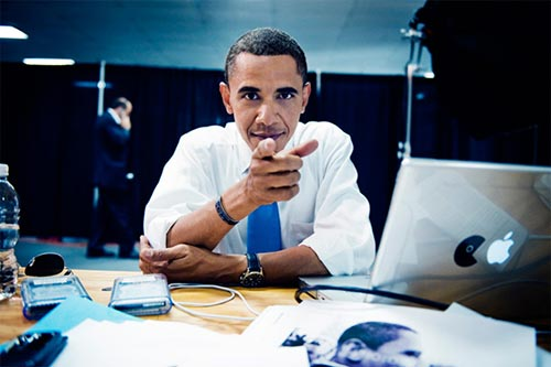 obama and computers