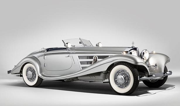 An original line-dropper: 1937 Mercedes-Benz 540K Special Roadster (image: RM Auctions)