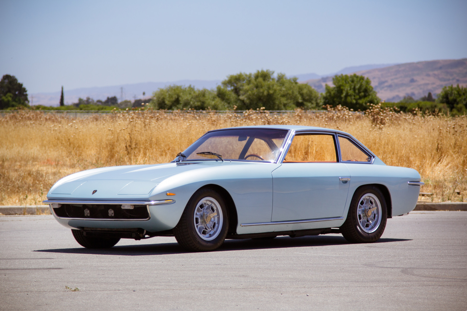 At Gooding & Company, 1968 Lamborghini Islero (Images courtesy of Gooding & Company)