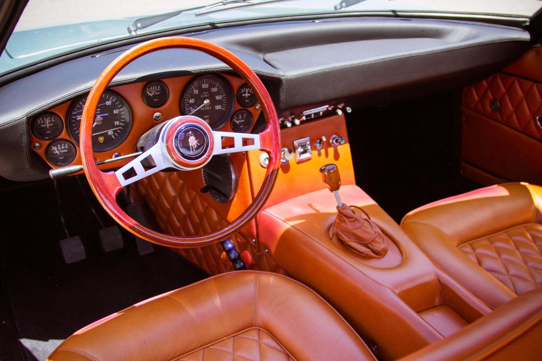 At Gooding & Company, (like buttah), 1968 Lamborghini Islero