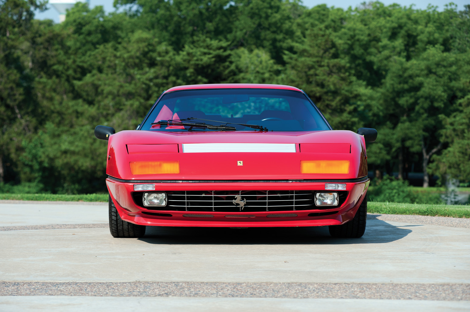 At RM Auctions, 1984 Ferrari 512 Berlinetta Boxer (image courtesy RM Auctions)