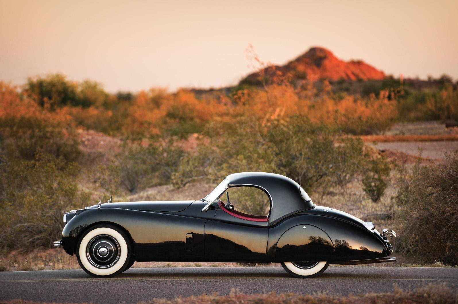 At RM Auctions, 1954 Jaguar XK120 Roadster (image courtesy of RM Auctions/Patrick Emzen)