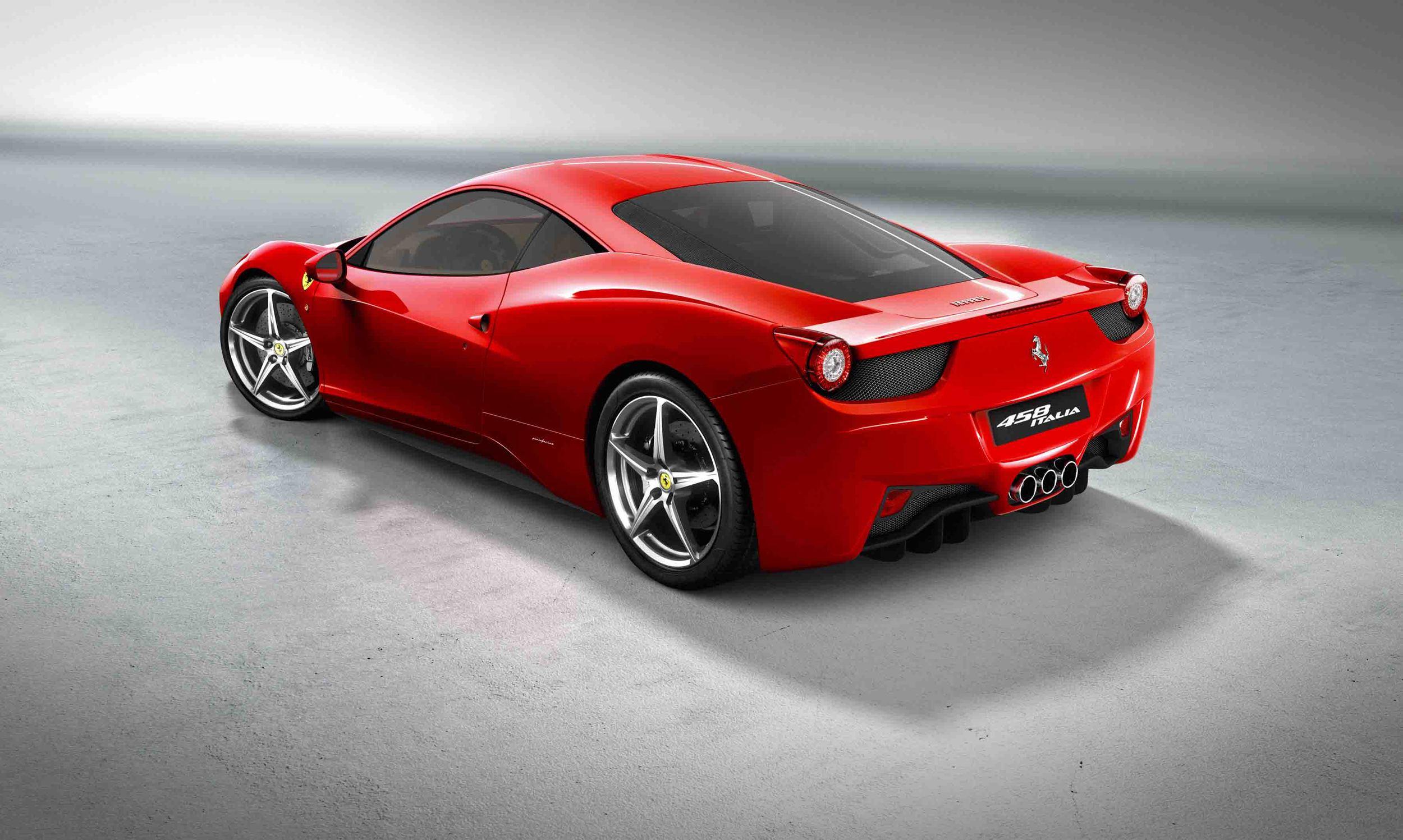 Ferrari 458 Italia (Photo: Courtesy of Ferrari)