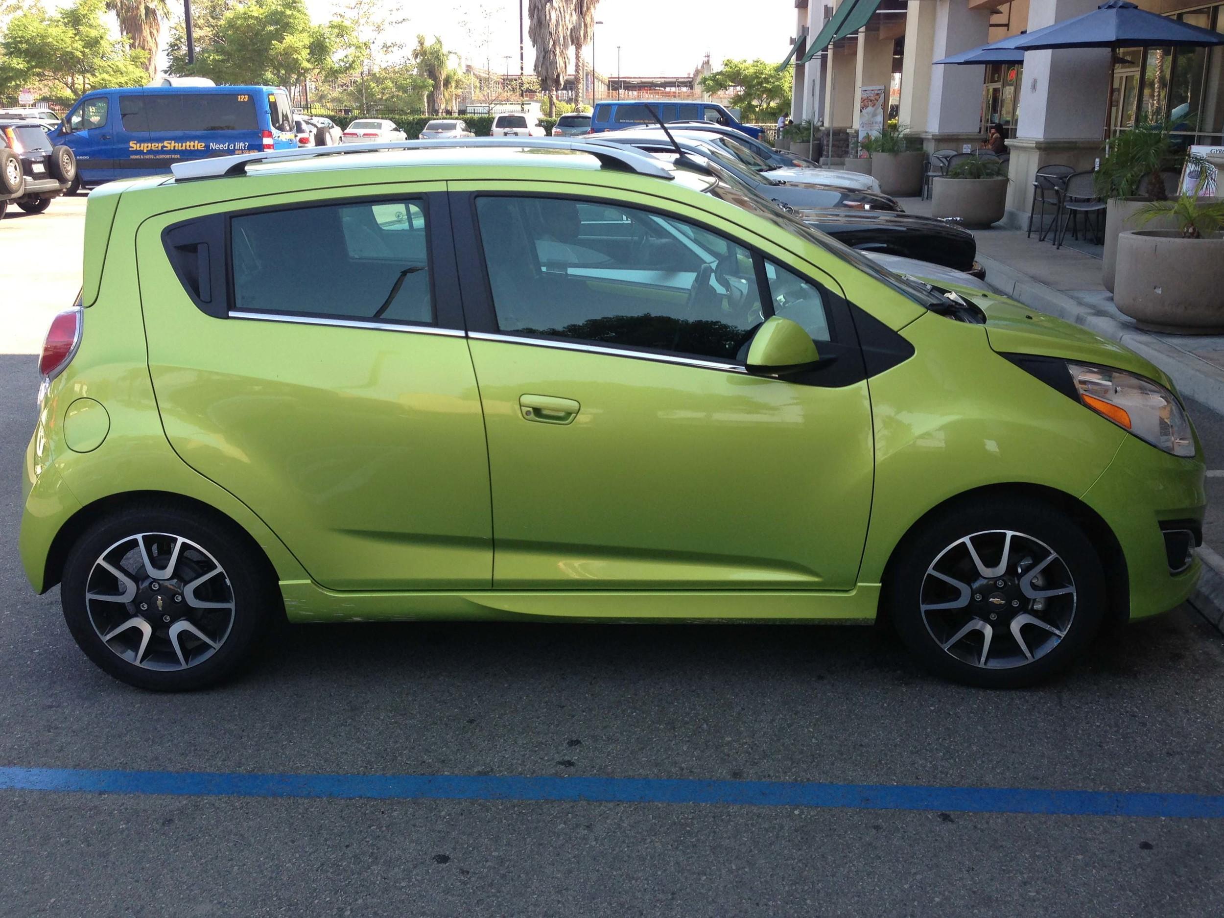 Chevrolet Spark in Jalapeno Green