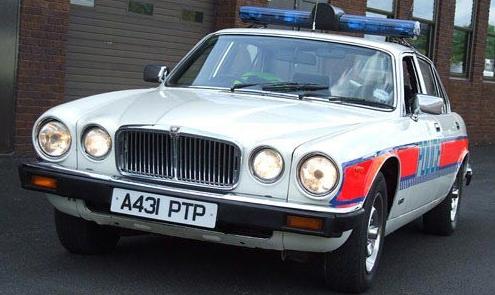 Jaguar XJ Police Car (Image: MSN Autos)