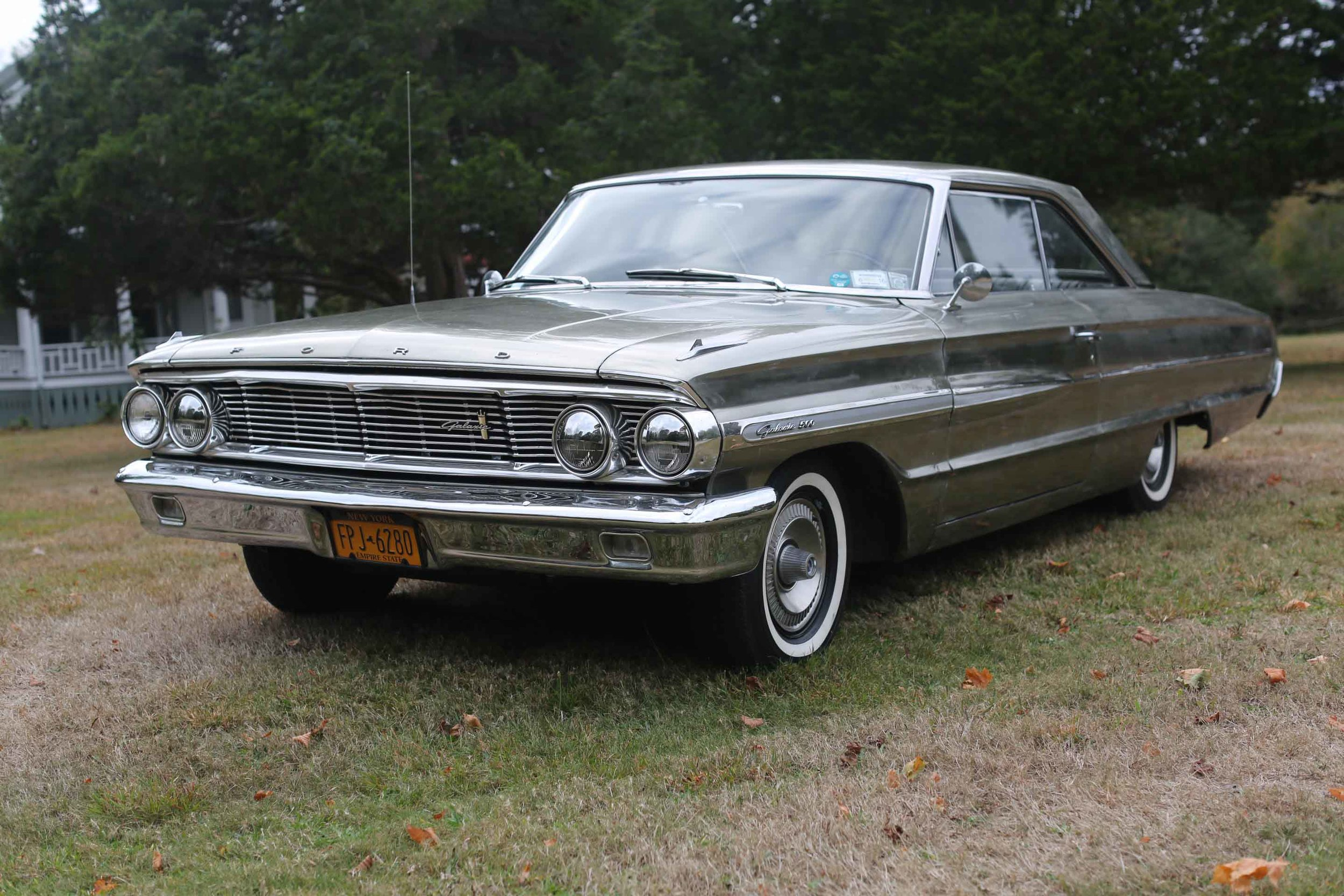 Olivier Mosset, Jacob Kassay and ServaneMary, Ford Galaxie (Car), 2013;1964 Ford Galaxie