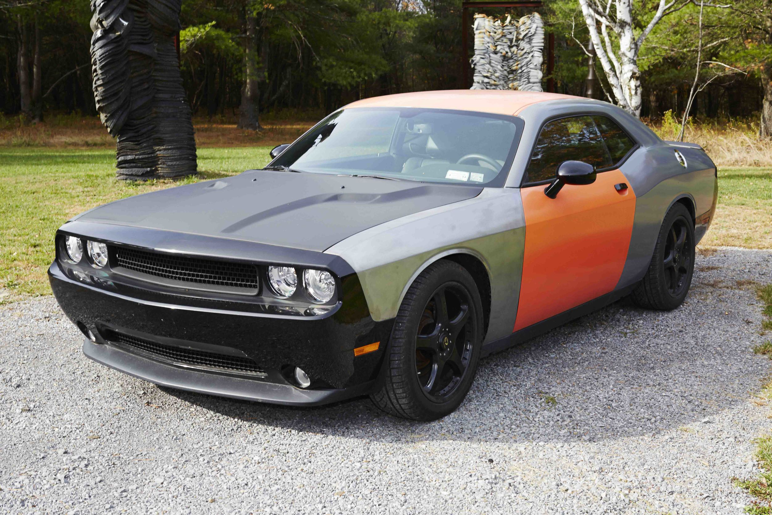 Richard Prince,Vanishing Point (The Artist Cut) (Car), 2012-13;2012 Dodge Challenger R/T
