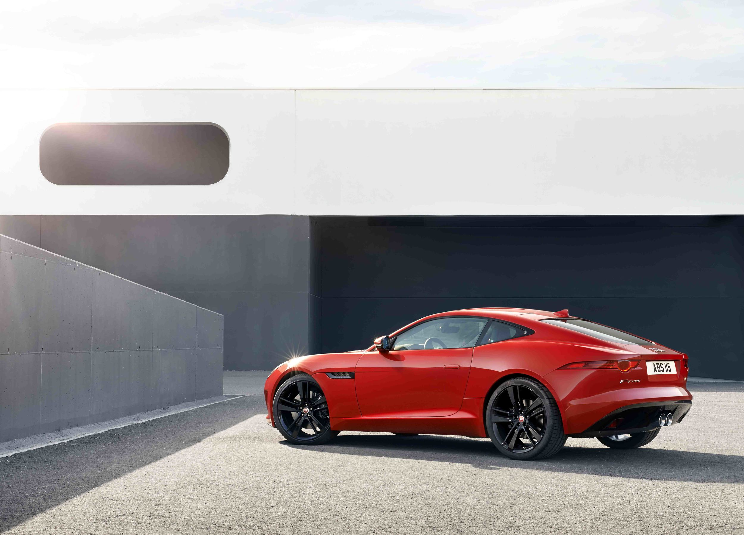 The new Jaguar F-Type Coupe