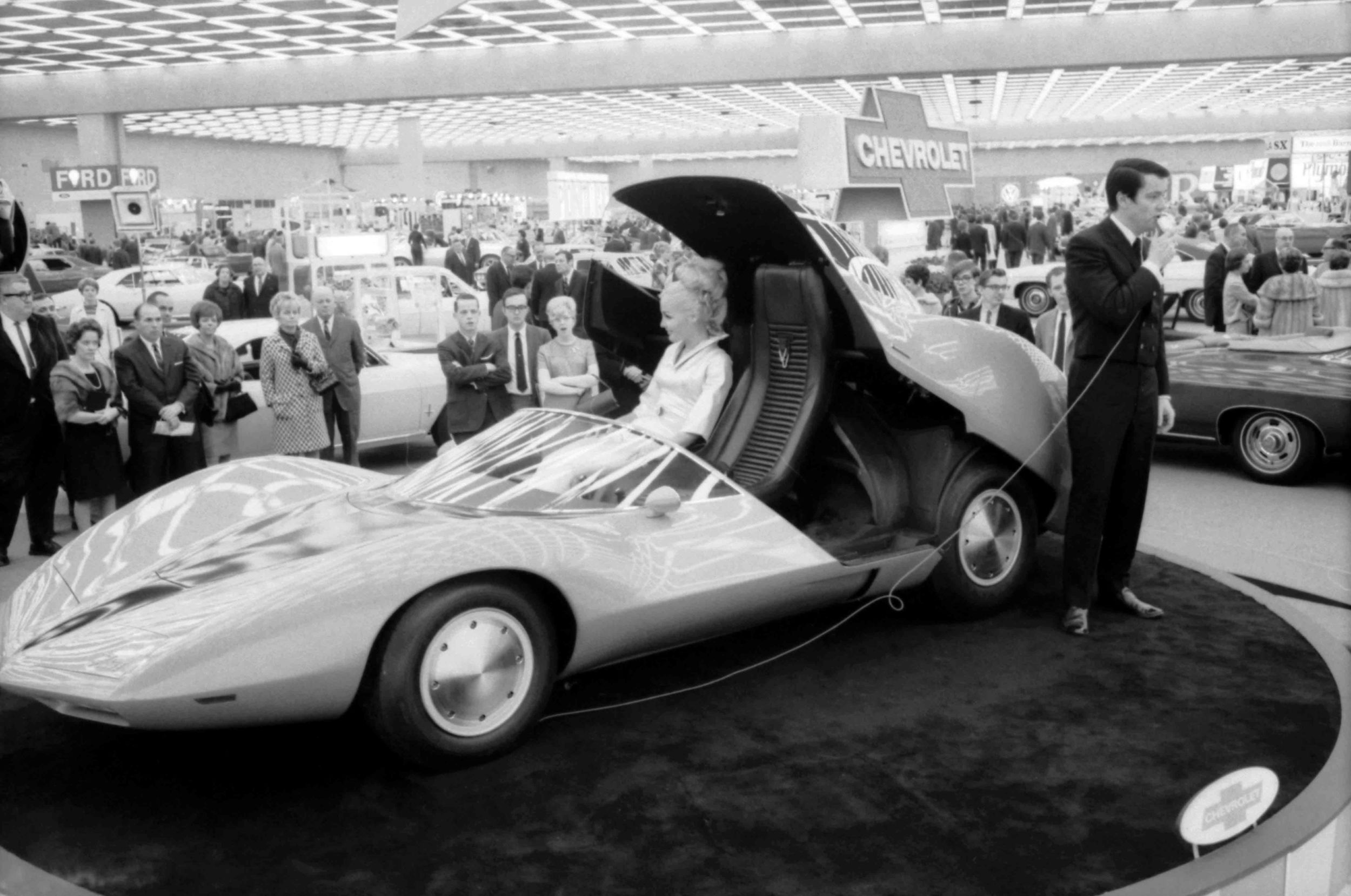 Chevrolet Astro Concept at the 1967 Detroit Motor Show. Image Copyright and Courtesy of GM Media Archive.