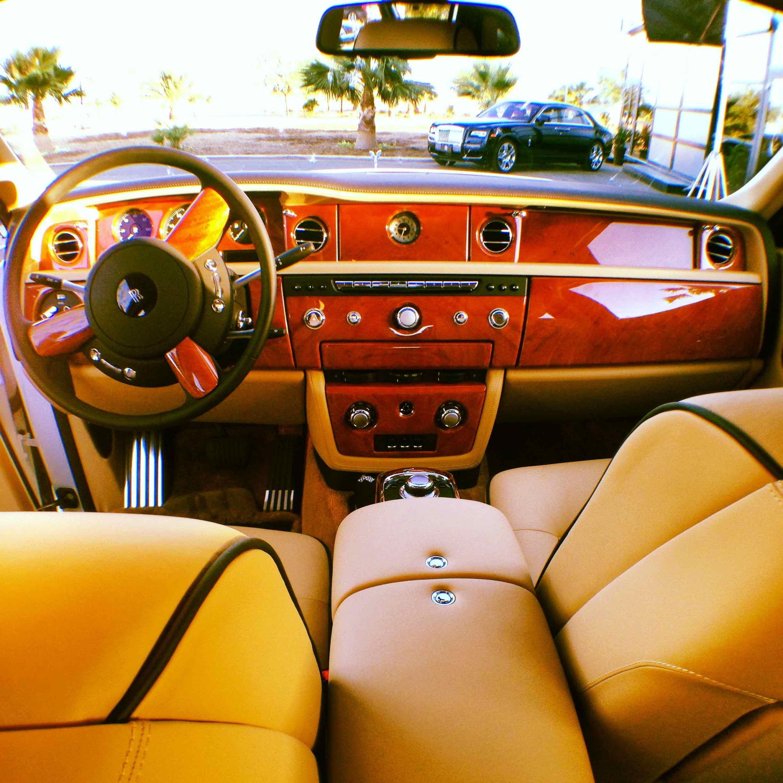 Splendid interior of the Phantom II