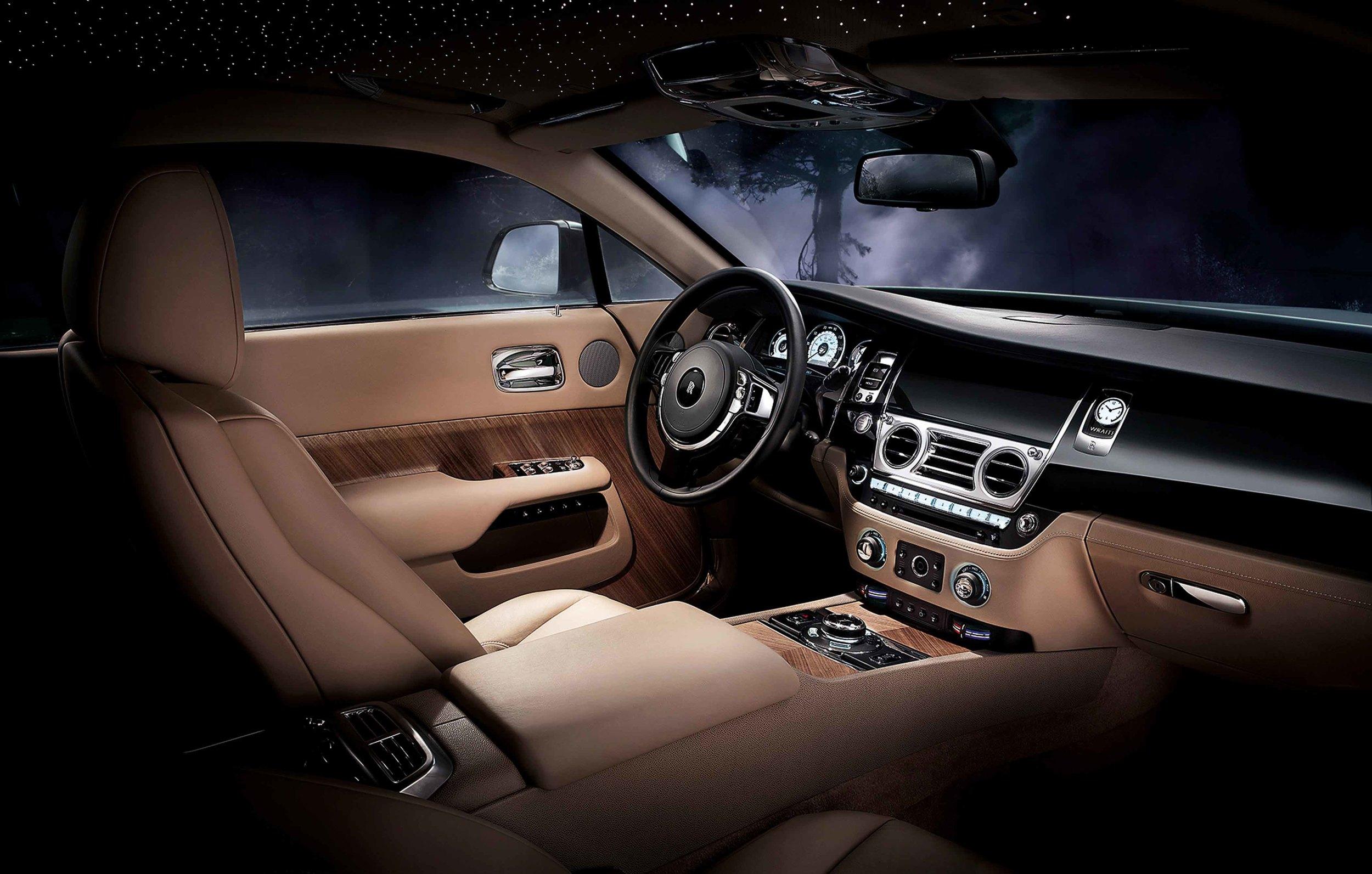 The Wraith (image courtesy of Rolls-Royce)