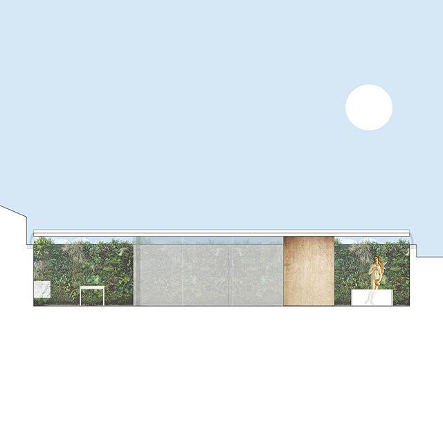 #wip #arquitetura #pavilhao #spa #jardimvertical #vilanovagaia